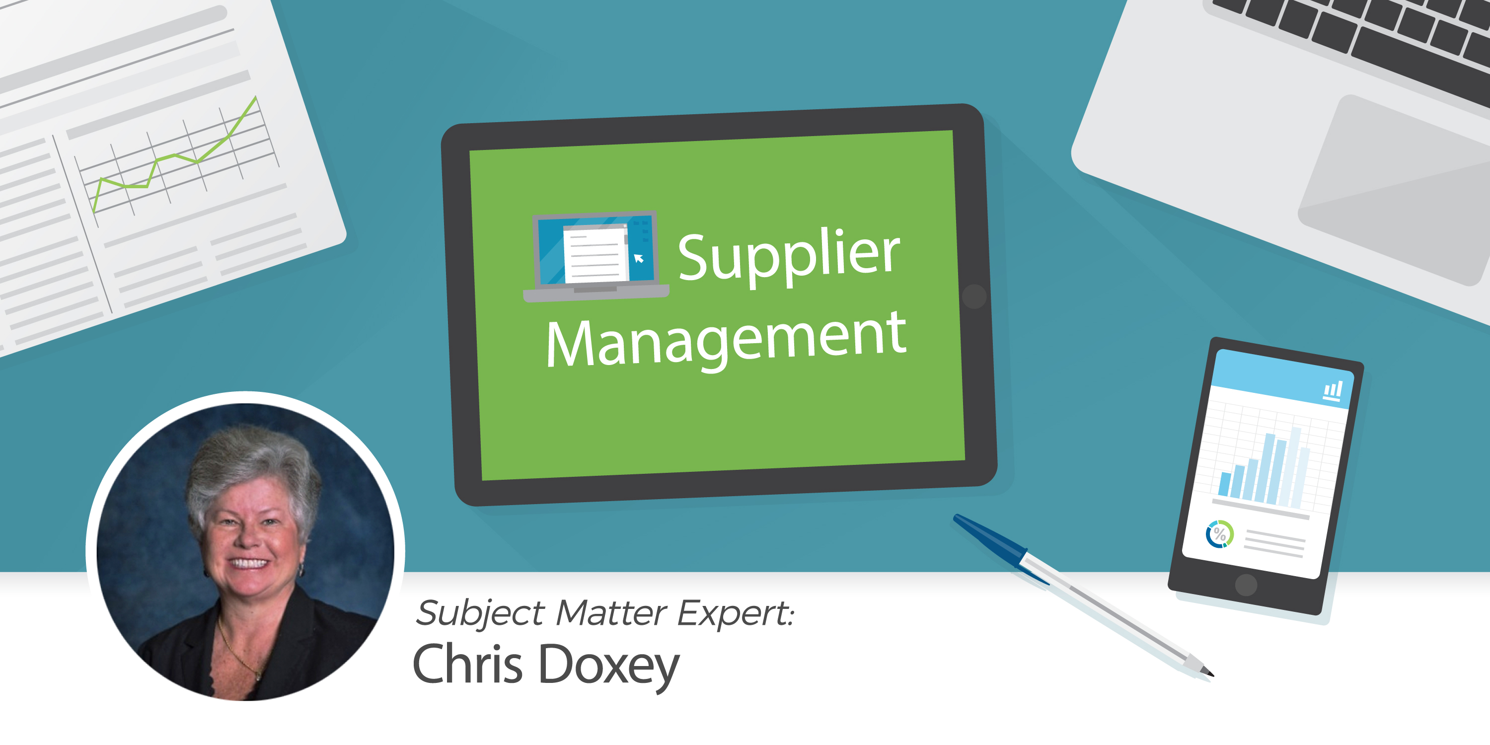 AP desk with tools for taking control of your supplier master file
