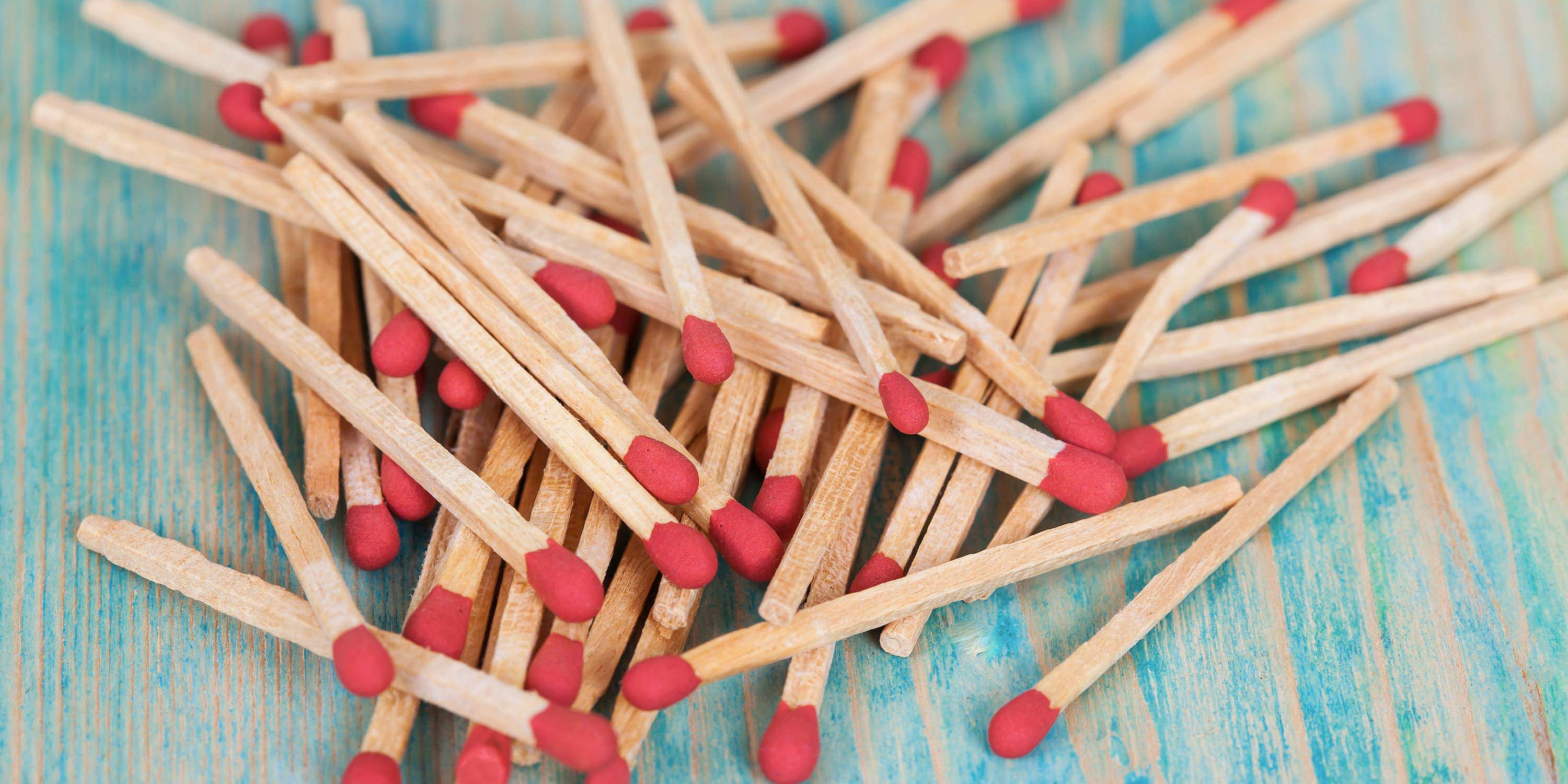 matchsticks. light up great ideas from your team.