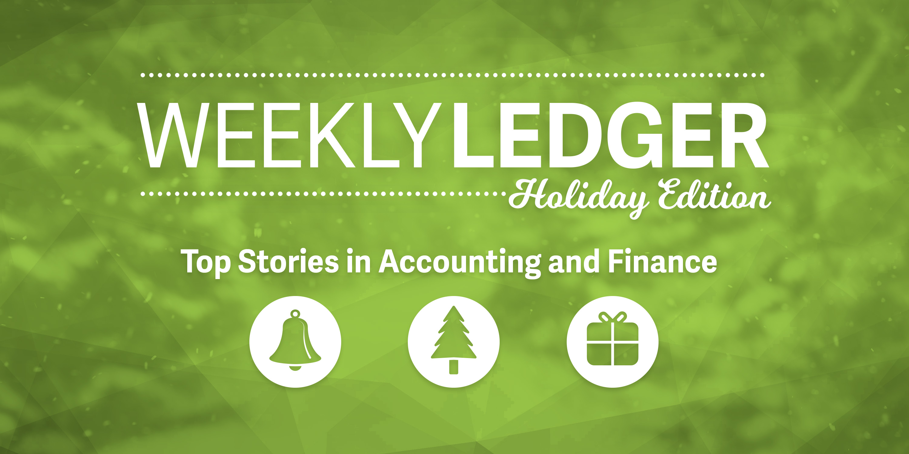 The ledger holiday 2017 edition