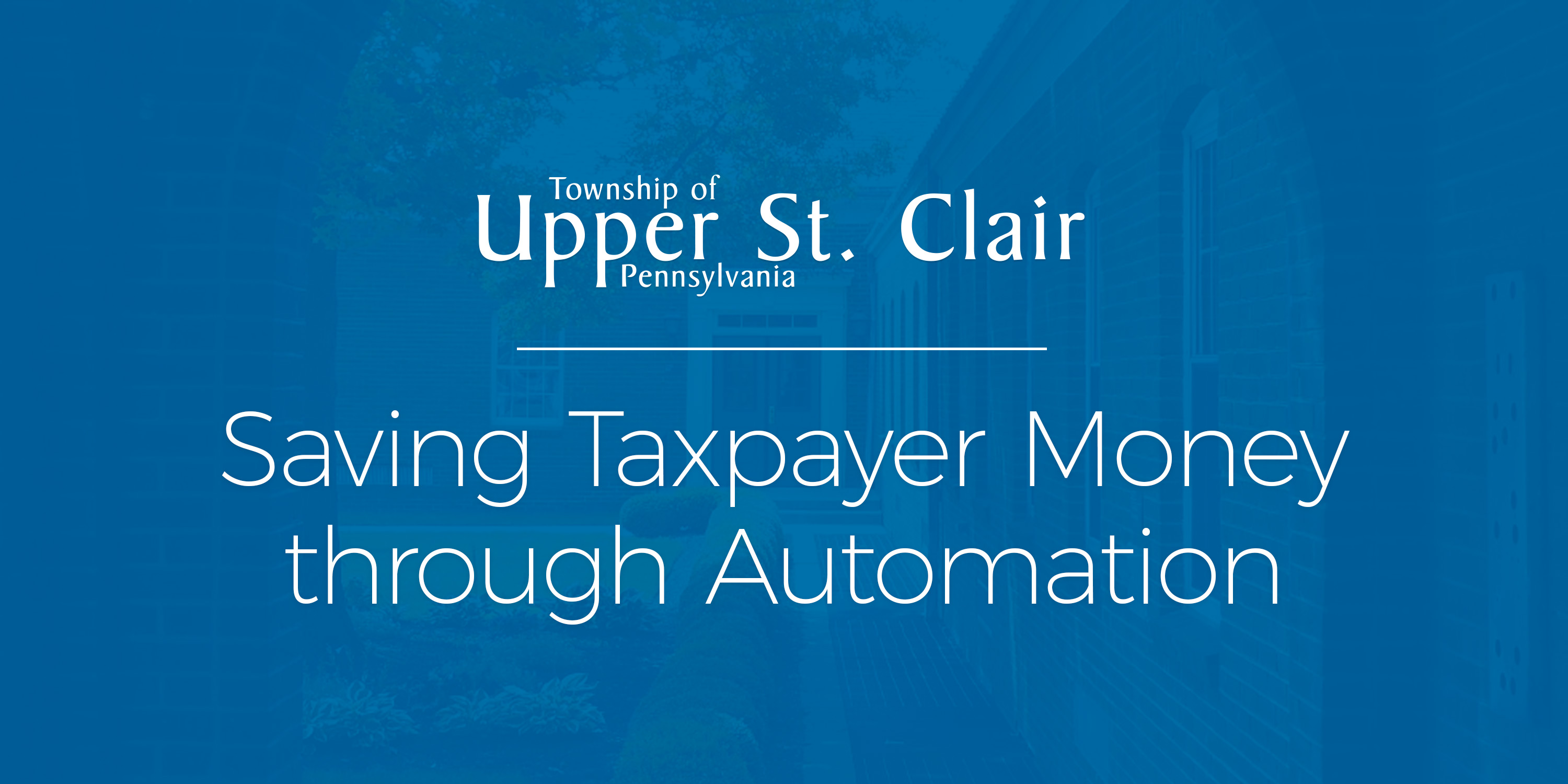 webinar recap and quick quotes from township upper st. clair