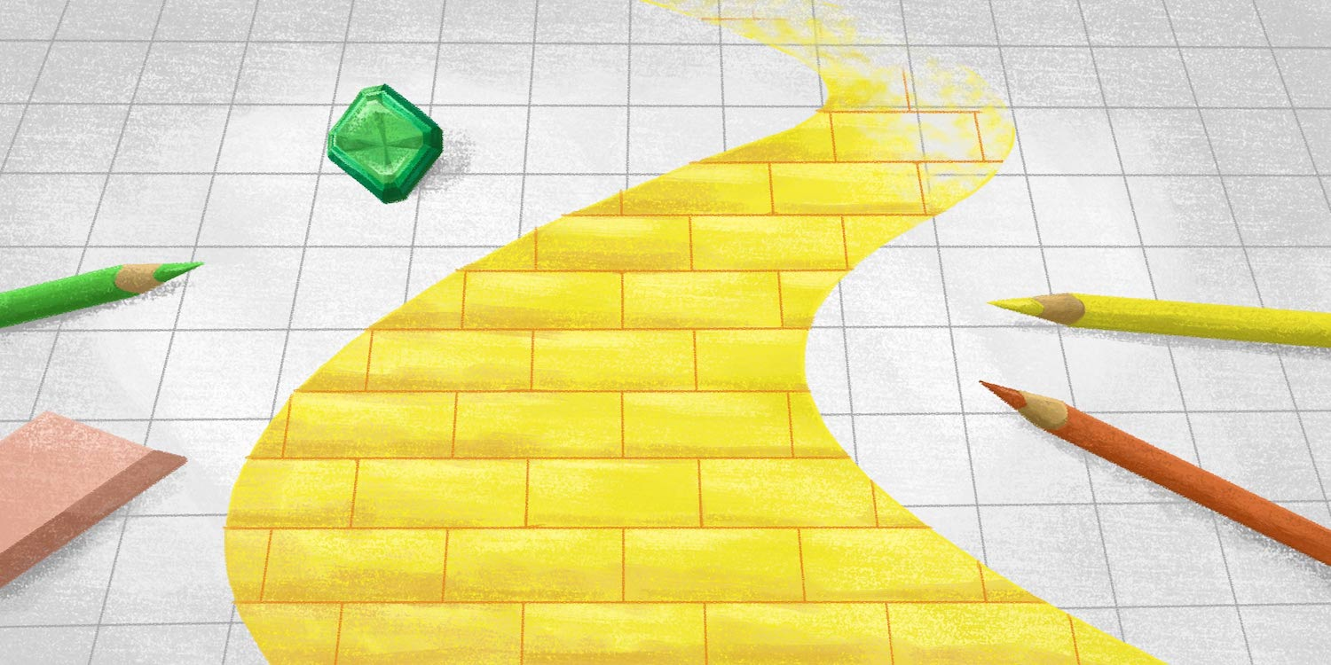 yellow brick road leading accounts payable managers down the best path