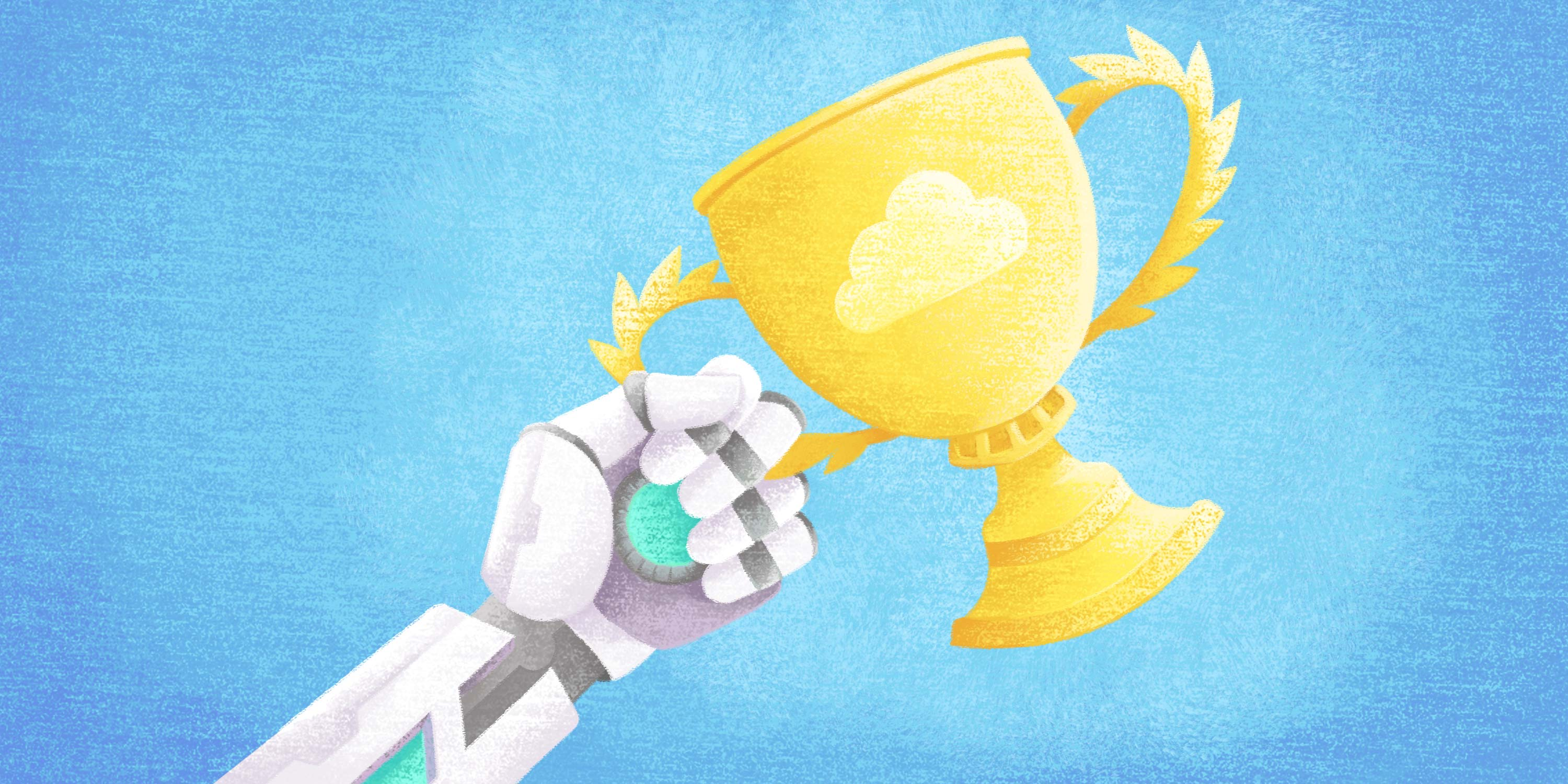 automation holds a trophy for helping finance and accounts payable win