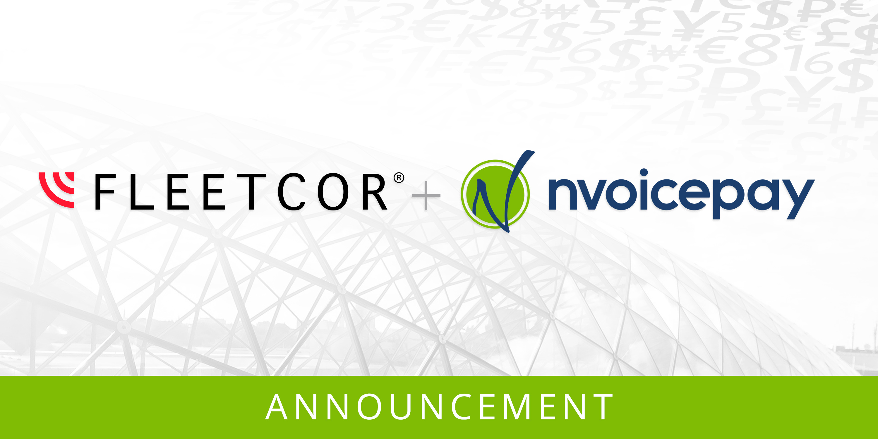Announcement with Fleetcor and Nvoicepay