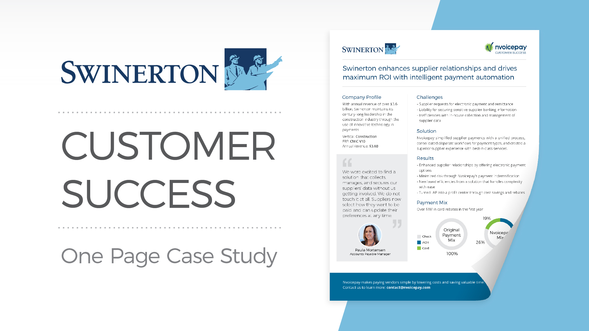 Customer Success: Swinerton