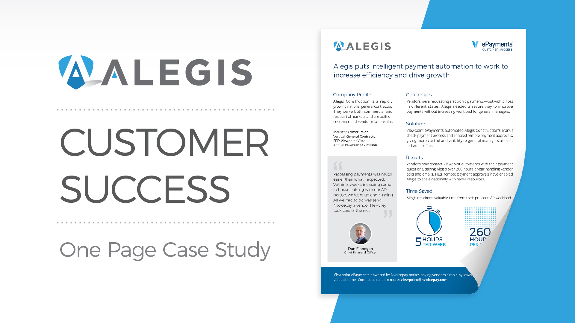 Customer Success: Alegis Construction