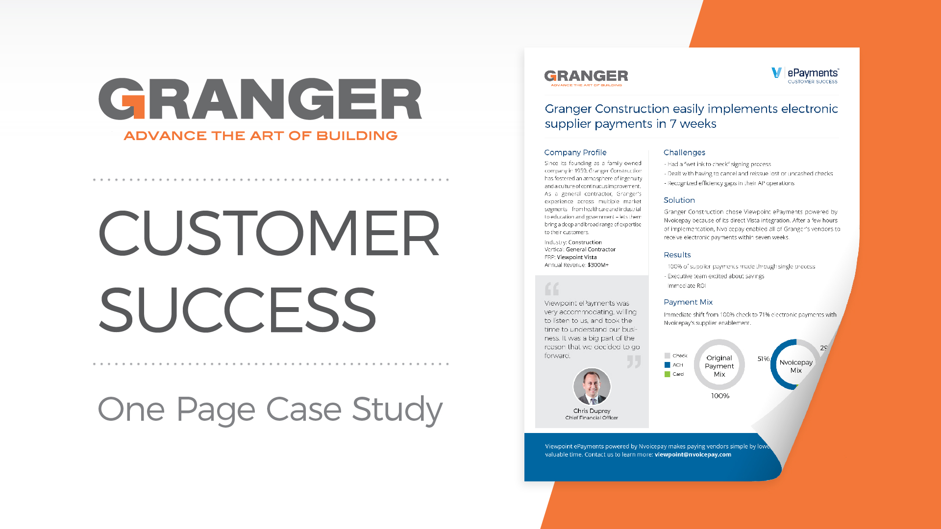 Customer Success: Granger Construction