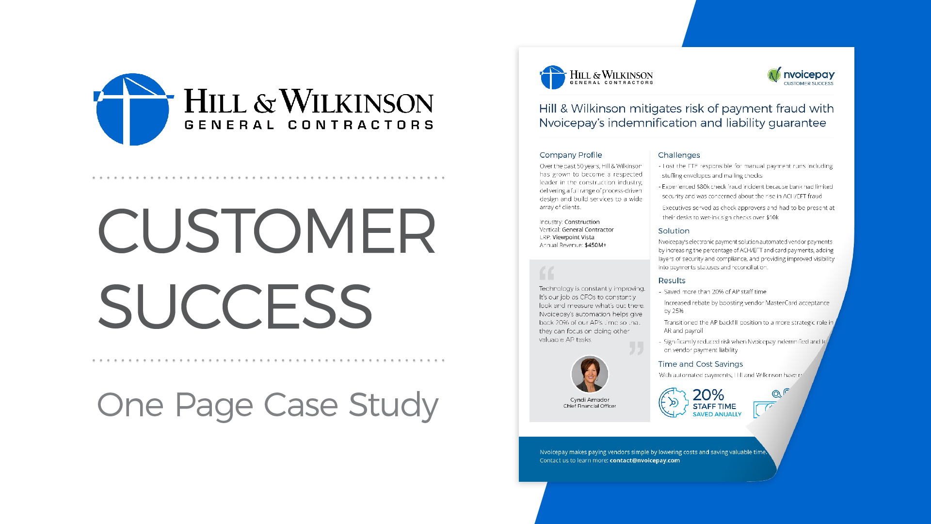 Customer Story: Hill & Wilkinson