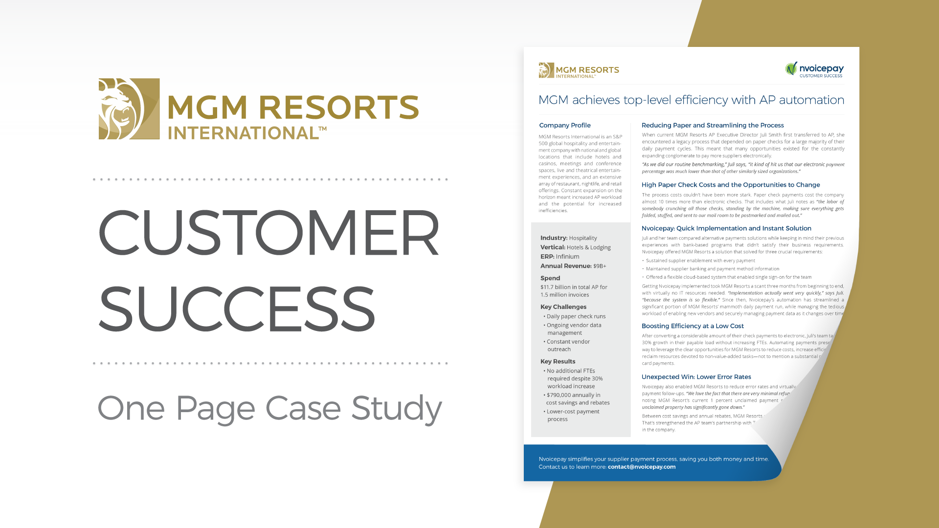 Customer Story: MGM Resorts International