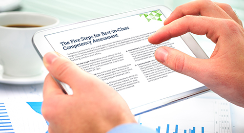 Five Steps for Best-in-Class Competency Assessment