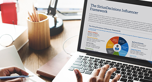 The SiriusDecisions Influencer Framework
