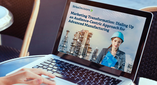 Dialing up an Audience-Centric Approach for Advanced Manufacturing