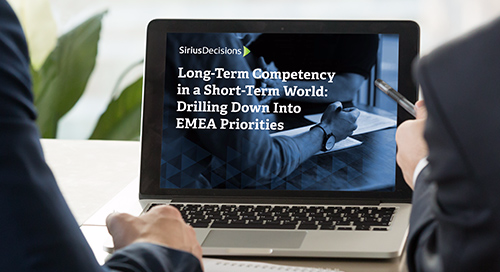 Long-Term Competency in a Short-Term World: Drilling Down Into EMEA Priorities