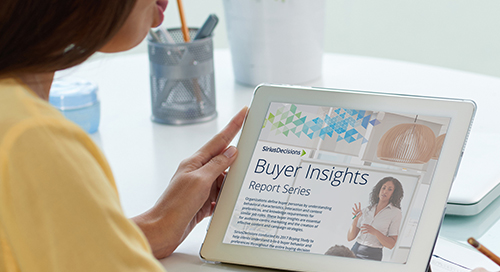 Buyer Insights Report Series Brochure