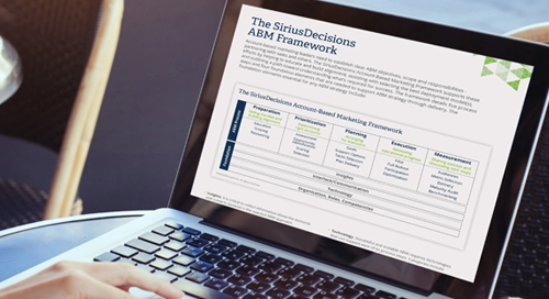 The SiriusDecisions ABM Framework