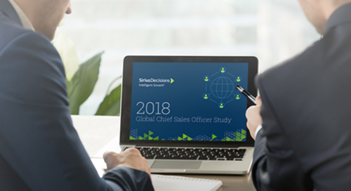 2018 Global Chief Sales Officer Study