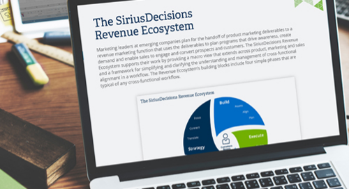 The SiriusDecisions Revenue Ecosystem