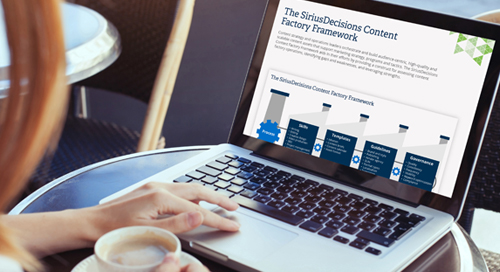 The SiriusDecisions Content Factory Framework