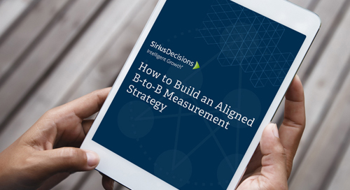 How to Build an Aligned B-to-B Measurement Strategy
