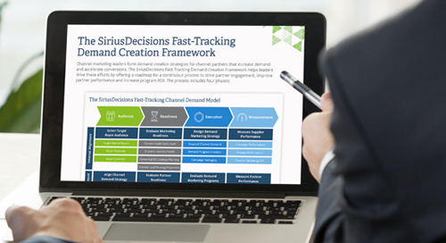 The SiriusDecisions Fast-Tracking Demand Creation Framework