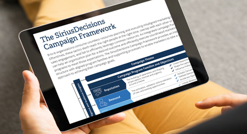 The SiriusDecisions Campaign Framework