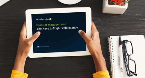 Product Management: The Keys to High Performance