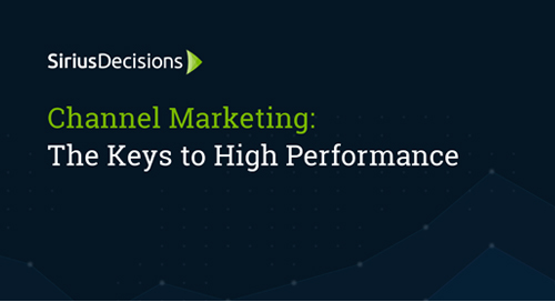 Channel Marketing: The Keys to High Performance