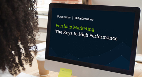 Portfolio Marketing: The Keys to High Performance