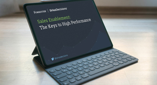 Sales Enablement: The Keys to High Performance