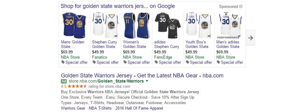 PLAs - Add Warriors jerseys to your cart. Heartbreak not included.