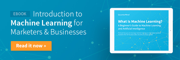 Download our machine learning ebook now