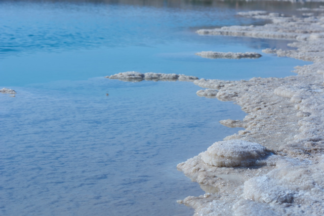 Dead Sea Salt and water minerals
