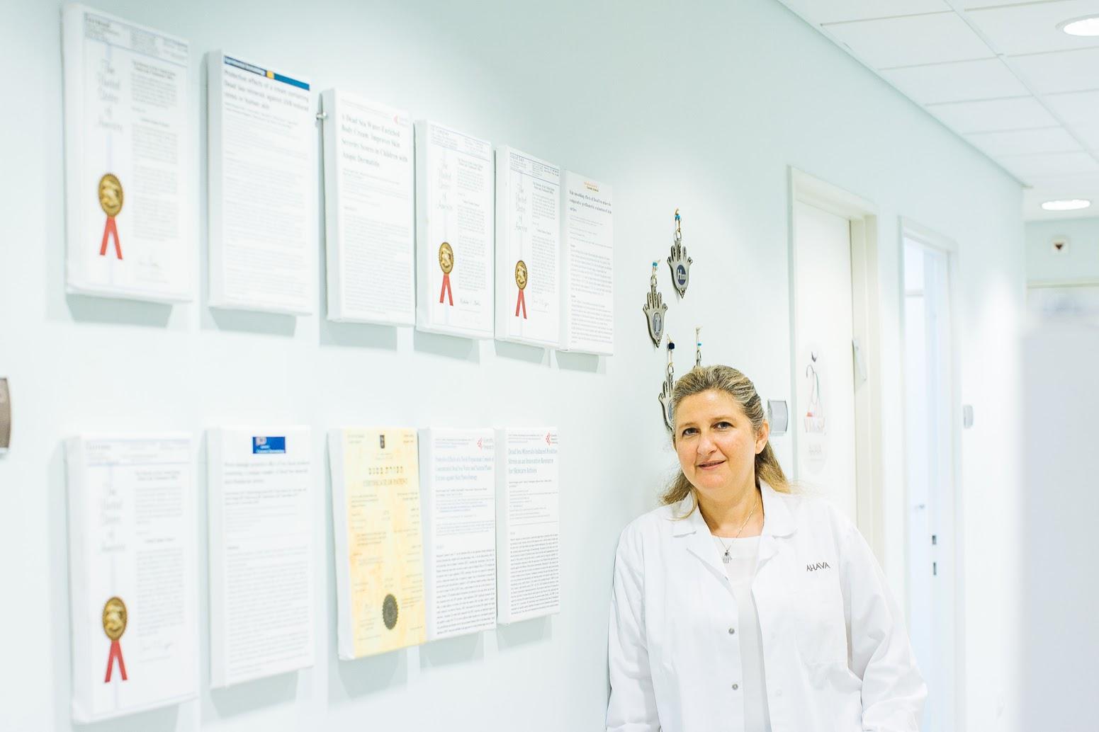 Dr Miriam Oron AHAVA Dead Sea Labs Patents