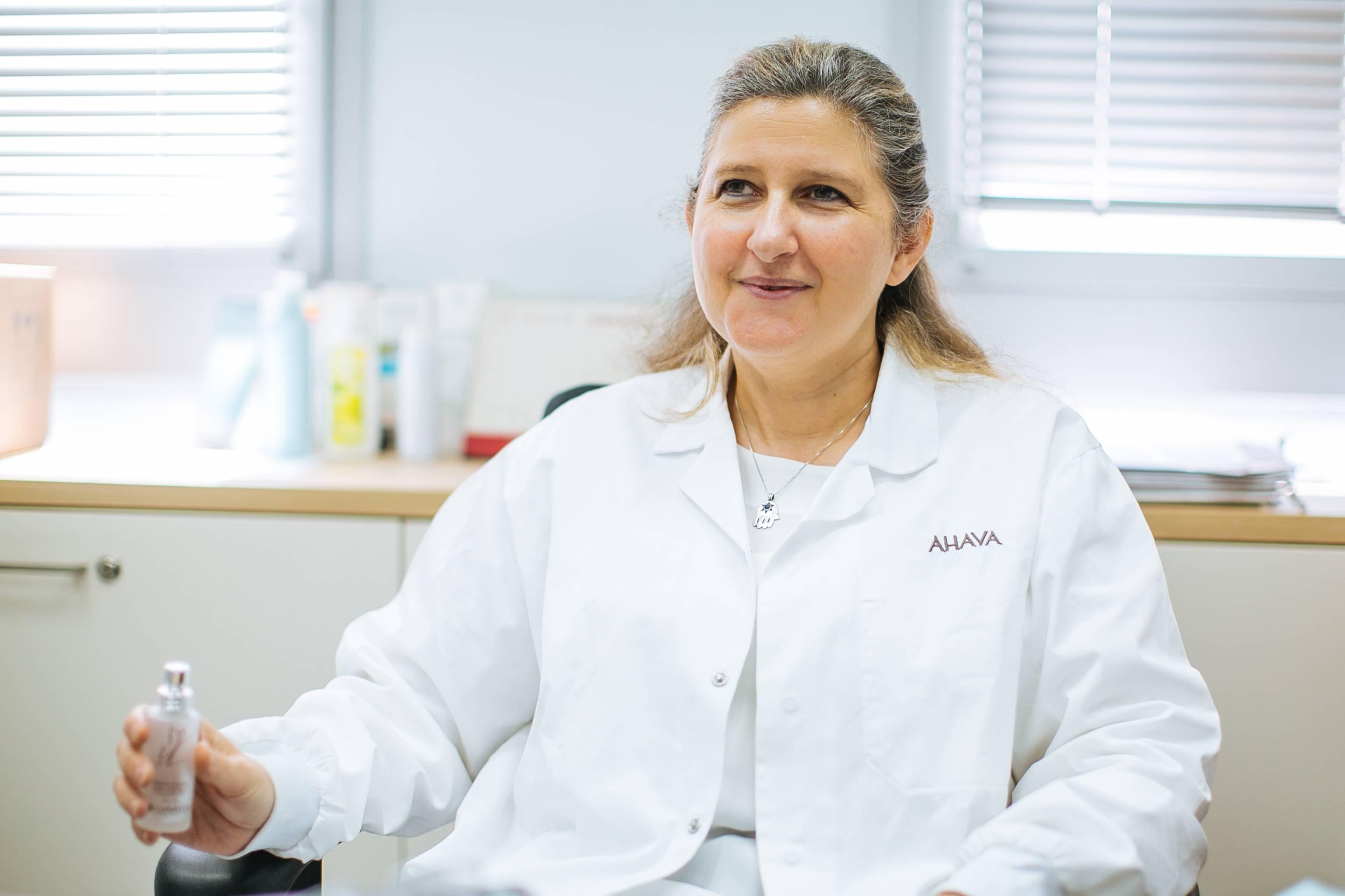 AHAVA Dead Sea Laboratories Dr. Miriam Oron