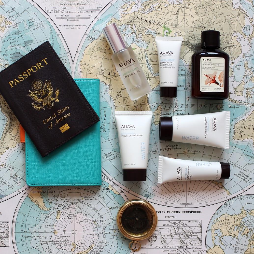 Travel Mini Size Ahava Products