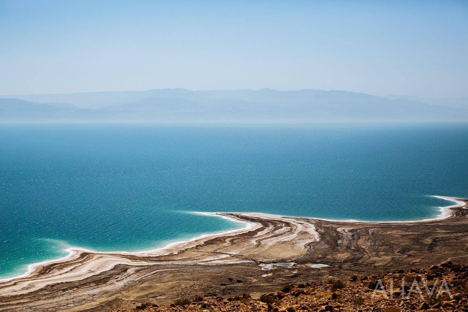 Dead Sea View Natural Mud