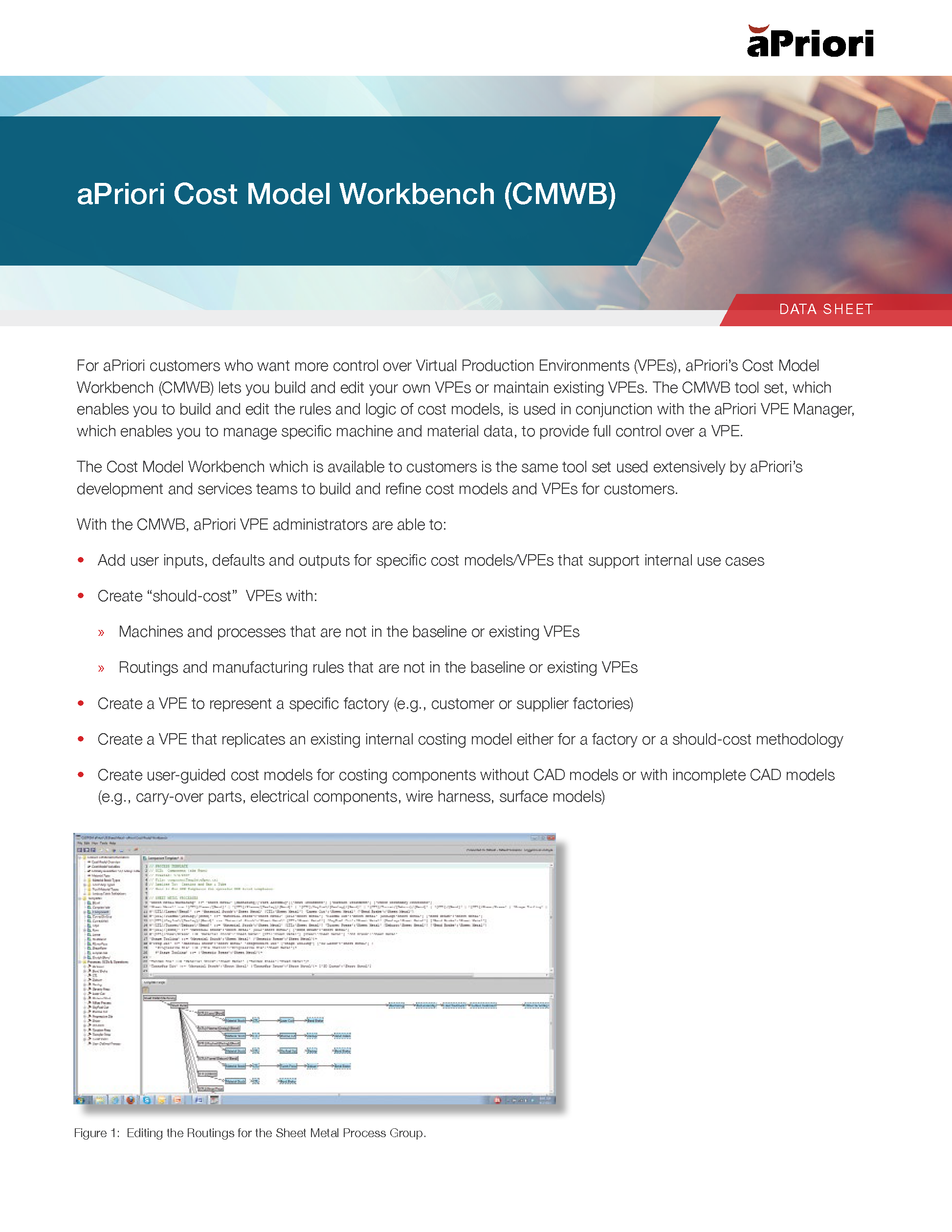 Cost Model Workbench