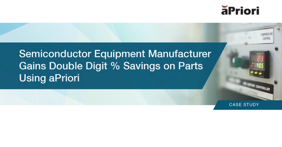 Semiconductor Equipment Mfr. Saves Double Digits on Parts