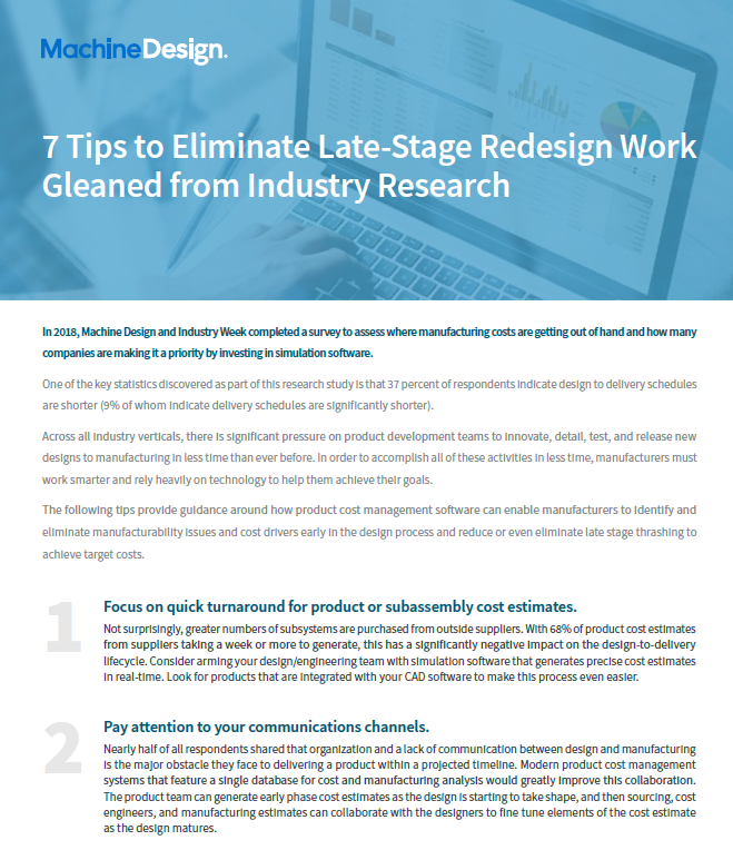 7 Tips to Eliminate Late Stage Redesign Work