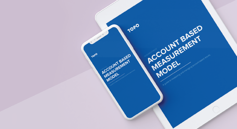 [E-Book] TOPO Account Based Measurement Model