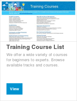 Training Course List