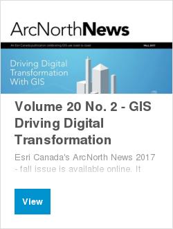 Volume 20 No. 2 - GIS Driving Digital Transformation
