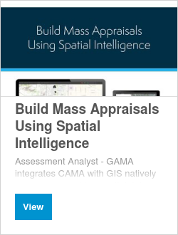 Build Mass Appraisals Using Spatial Intelligence