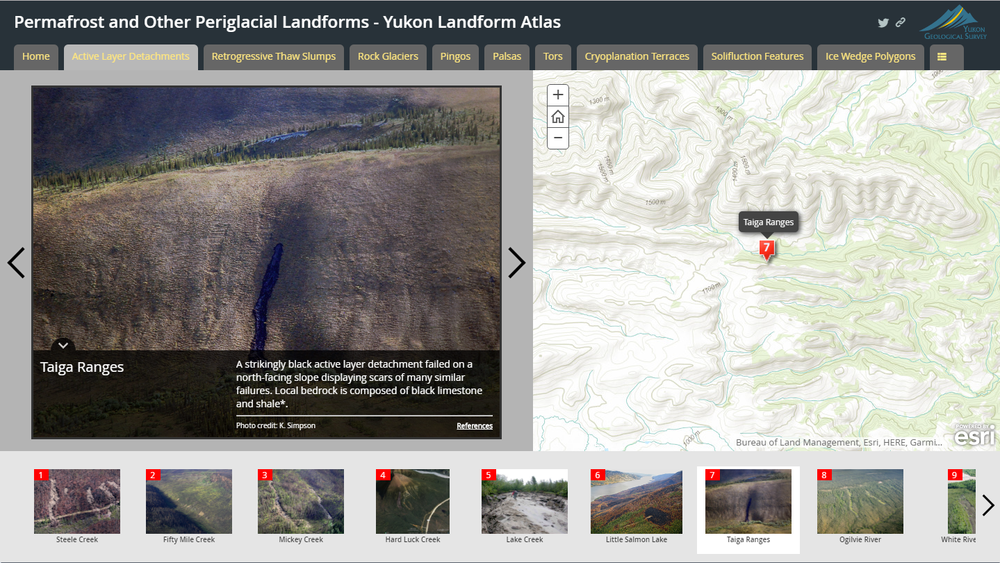 Marchs app of the month permafrost other periglacial landforms the yukon periglacial landform atlas has received over 2000 views since its release last year the app has helped push yukon government internal staff to gumiabroncs Image collections