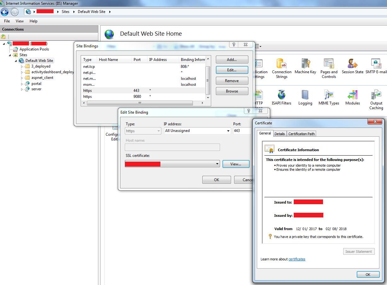 Arcgis Server L Portal For Arcgis L Ssl Certificates