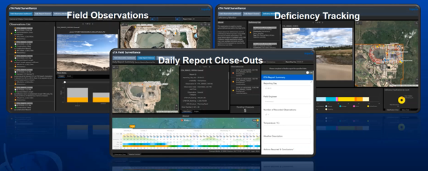 Field Observations, Deficiency Tracking and Daily Report Close-Outs.