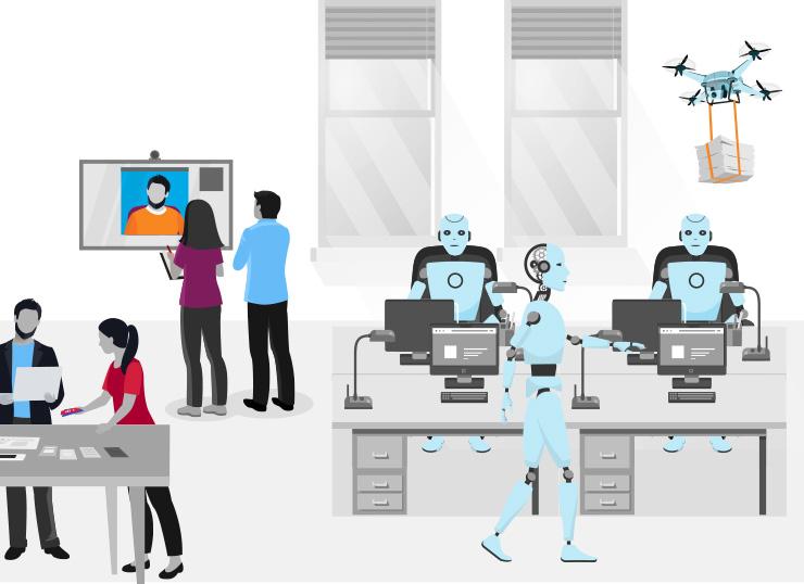 robots office future