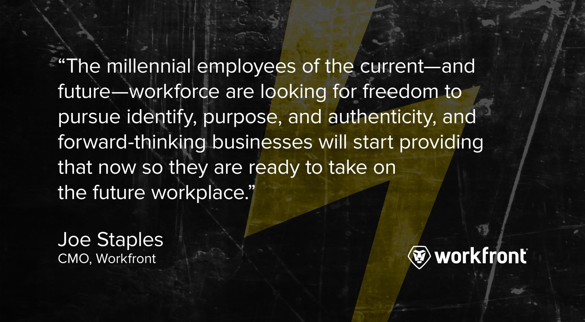 millennials work technology