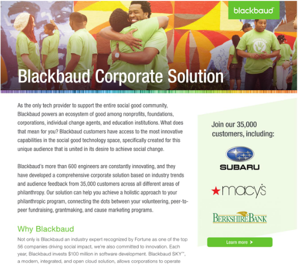 Corporate Social Responsibility Solution