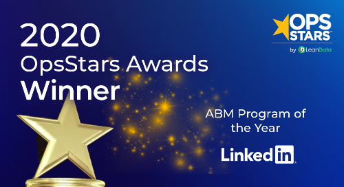 Account Based Marketing Program of the Year