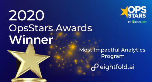 Most Impactful Analytics Program of the Year
